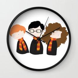 The Troublesome Trio Wall Clock