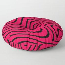 PewDiePie waves Floor Pillow