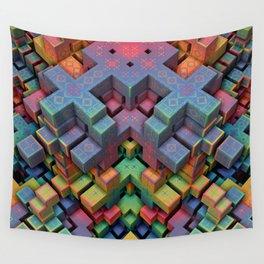 Mindcraft Wall Tapestry