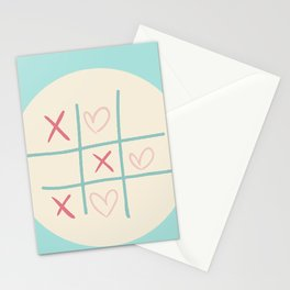 Naughts and Crosses Stationery Cards