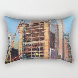 Everything Leaves A Mark Rectangular Pillow