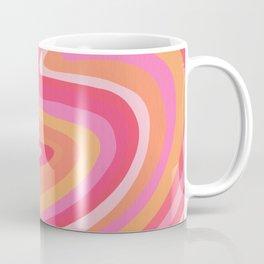 Sunshine Melt – Pink & Peach Palette Coffee Mug