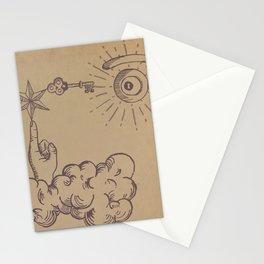 misterio visual 3: llave de la visión Stationery Cards