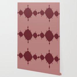 Dark Red Star Abstract Wallpaper