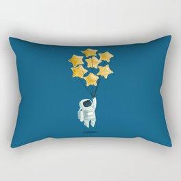 Astronaut's dream Rectangular Pillow