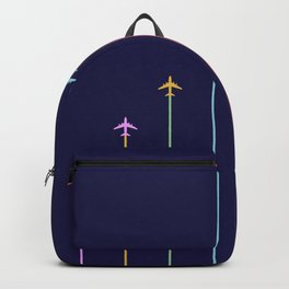 Retro Airplanes 09 Backpack