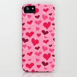 Valentine's Hearts iPhone Case