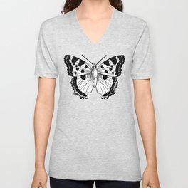 Vintage Butterfly Unisex V-Neck