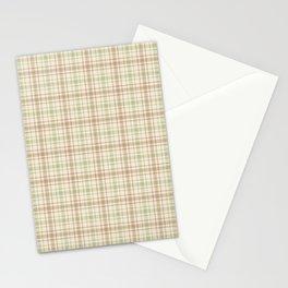 Beautiful plaid 2 Stationery Cards