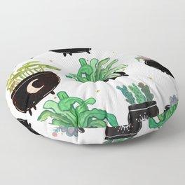 Cauldron Planters Floor Pillow