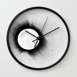 1919 Solar Eclipse Wall Clock