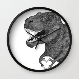 Dino Love Wall Clock