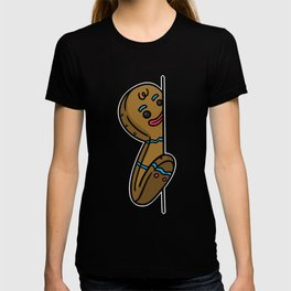 Gingerbread Man Funny Cool Christmas Gift T-shirt
