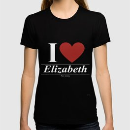 Elizabeth New Jersey NJ New Jerseyan T-shirt