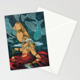 Téthys - nymph of water Stationery Cards