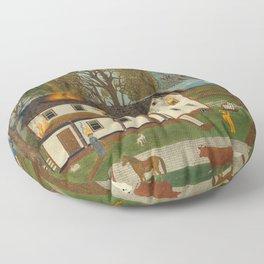 eyemerican 19th century Floor Pillow