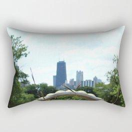Garden View II Rectangular Pillow
