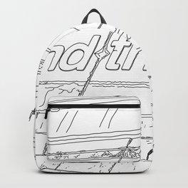 Mind the Gap - Line Art Backpack