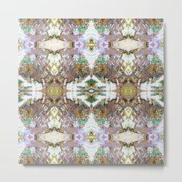 Mother of Pearl Abalone Shell Metal Print