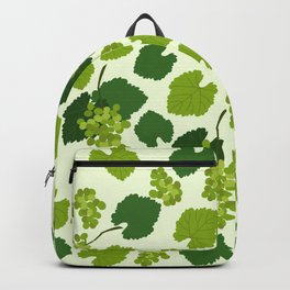 Grapes and Grape Leaves Pattern Backpack