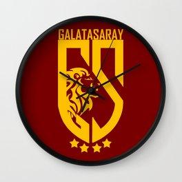 Slogan: Galatasaray Wall Clock