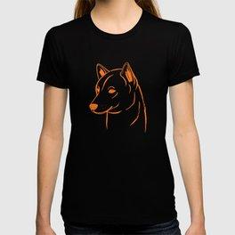 Shiba Inu (Beige and Orange) T-shirt