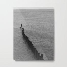 Lakeshore Study Metal Print