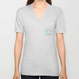Chronic Illness logo Unisex V-Neck