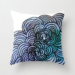 Flower Petal Throw Pillow