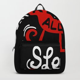 Sleigh All Day - Gift Backpack