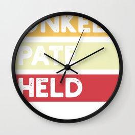 Uncle godfather hero nephew niece godfather godfather godfather Wall Clock