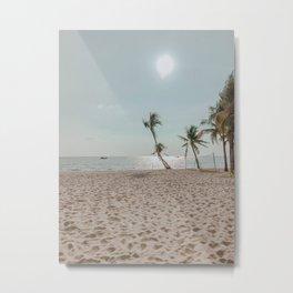 Summer Beach Time IV Metal Print