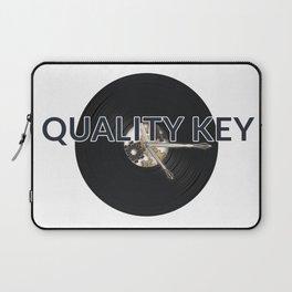 Quality Key: Vinyl Time Laptop Sleeve