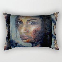 Courage by Lu Rectangular Pillow