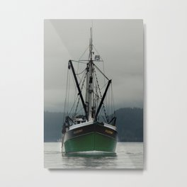Commercial Fishing Boat Photography Print Metal Print