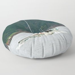 Wild Winds Heading Out Floor Pillow