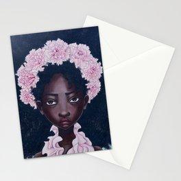 January - Carnation Stationery Cards