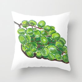 Abstract Grapes Throw Pillow