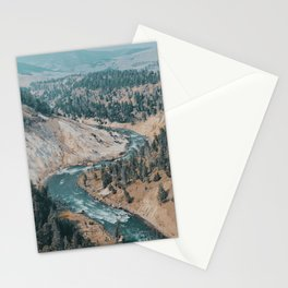Yellowstone River Stationery Cards
