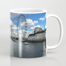 London's South Bank - Panorama Coffee Mug