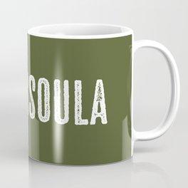 Deer: Missoula, Montana Coffee Mug