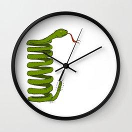 Coil Snake sssssuspension Wall Clock