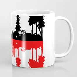 Stay Strange black and red Coffee Mug