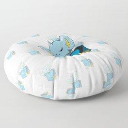 Sleeping in the Poket Floor Pillow