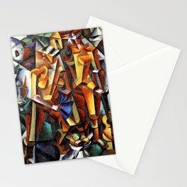 Lyubov Popova - Figures Stationery Cards