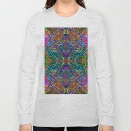 Buddha 5 geometry III Long Sleeve T-shirt