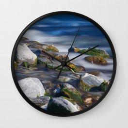 Water in Flow Wall Clock