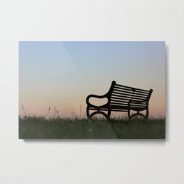 Sit Down and Forget The World Metal Print