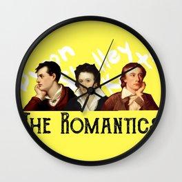 The Romantics (yellow) Wall Clock