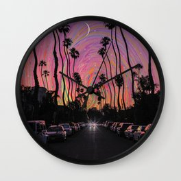 LA Vibes Wall Clock